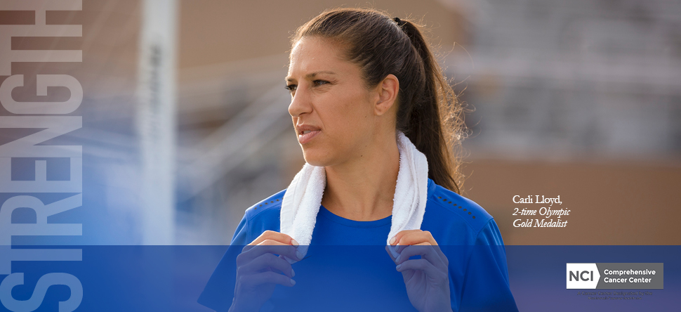 CMO Campaign Carli Lloyd Strength in Cancer Care Houston