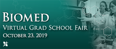 Biomed Virtual Grad School Fair